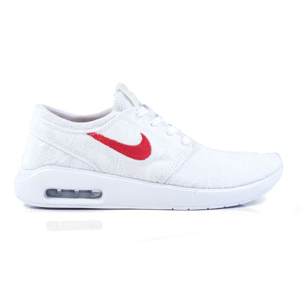 Nike SB Janoski Air Max 2 Shoes - White/University Red-White