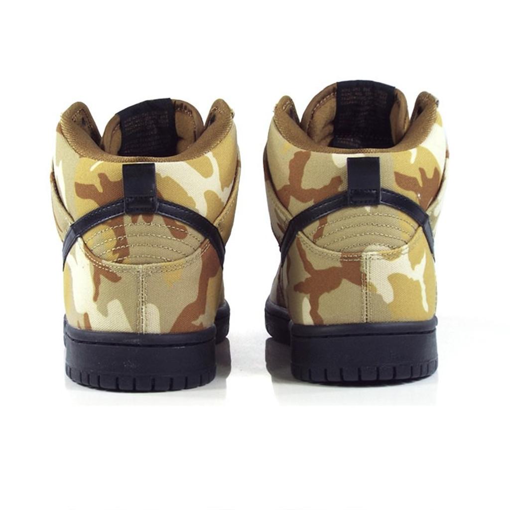 Nike SB Zoom Dunk High Pro Shoes - Parachute Beige/Black-Ale Brown