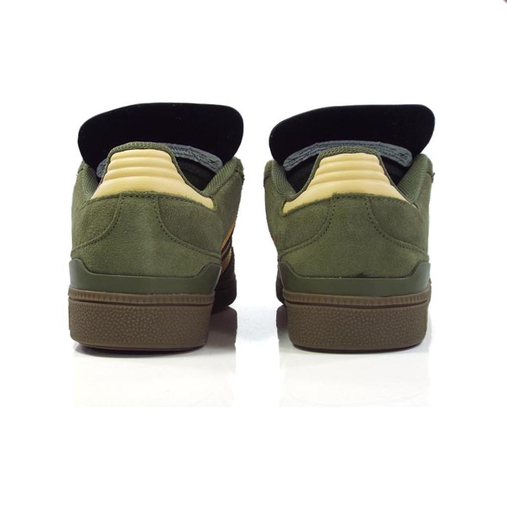 Adidas Busenitz Shoes - Raw Khaki/Glow Orange/White