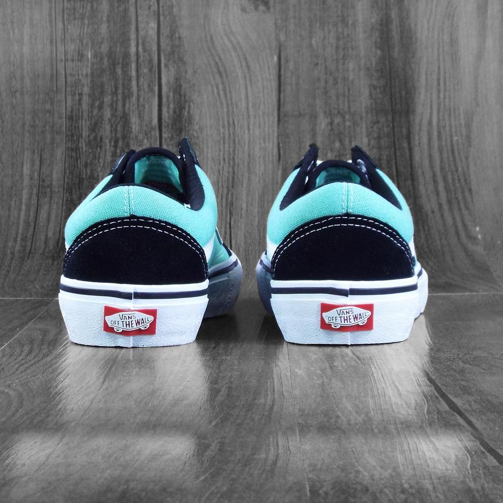 Vans Old Skool Pro Shoes - Black/Jade