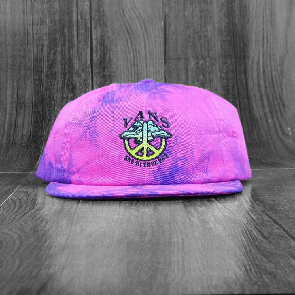 Vans Sk8-HI Forever Strapback Hat - Fuchsia Purple