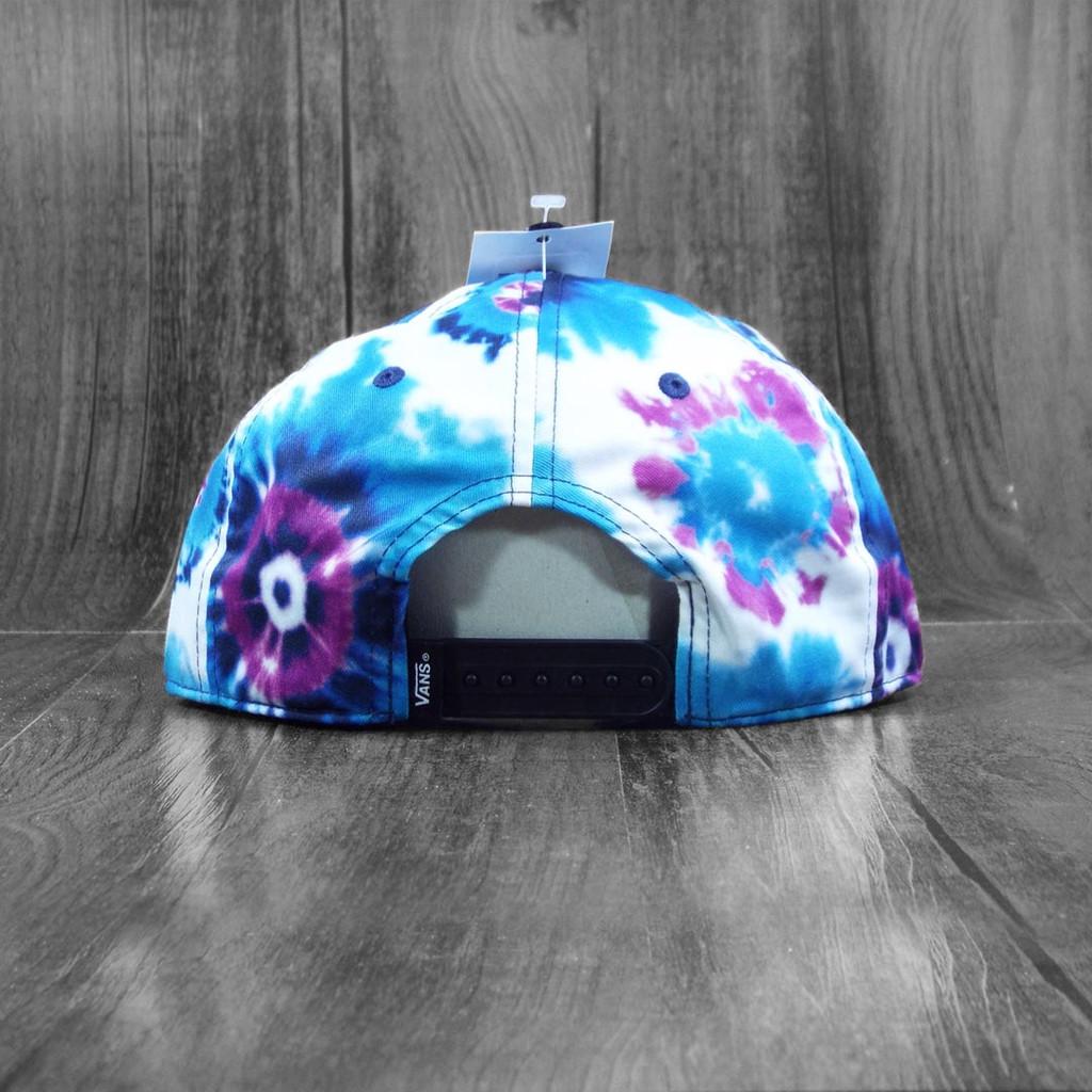 Vans Finders Unstructured Snapback Hat - Tie Dye