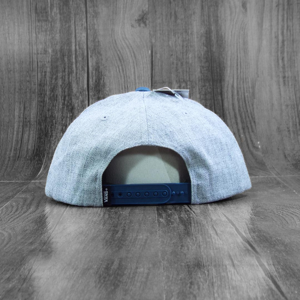 Vans Classic Patch Snapback Hat - Heather Grey/Stargazer