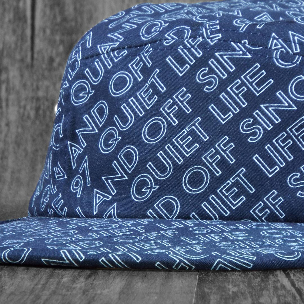 The Quiet Life One and Off 5 Panel Hat - Navy
