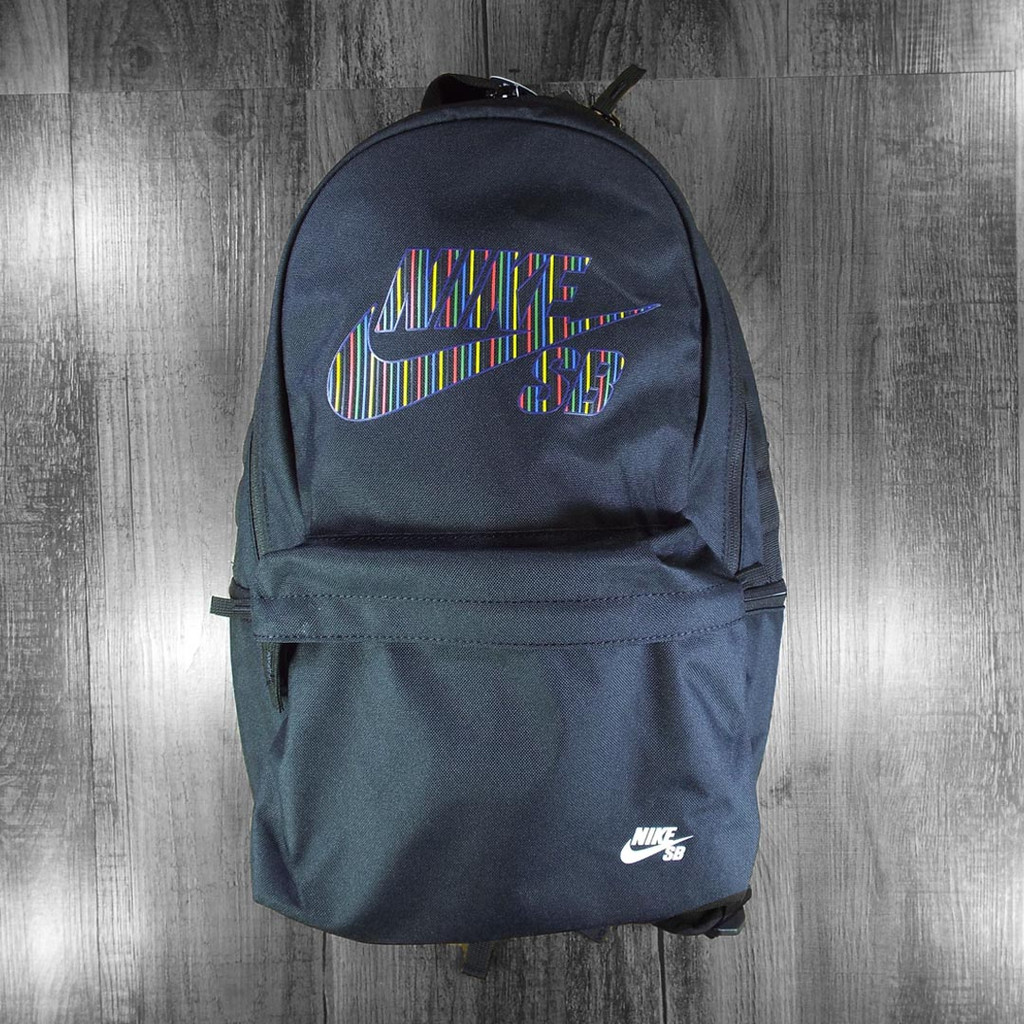 Nike SB Icon Backpack - Black/Black/White