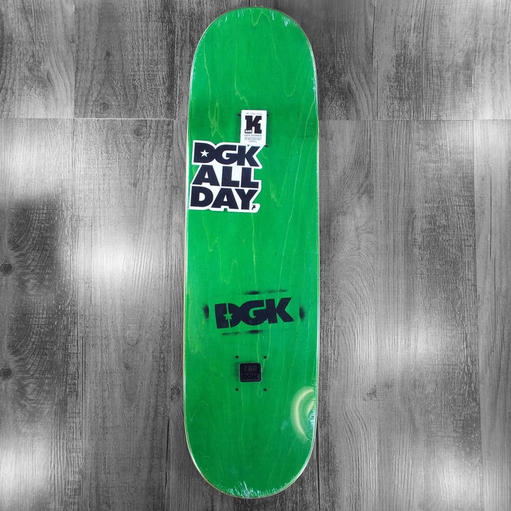 "DGK Boo Tuner Skateboard Deck - 7.8"""
