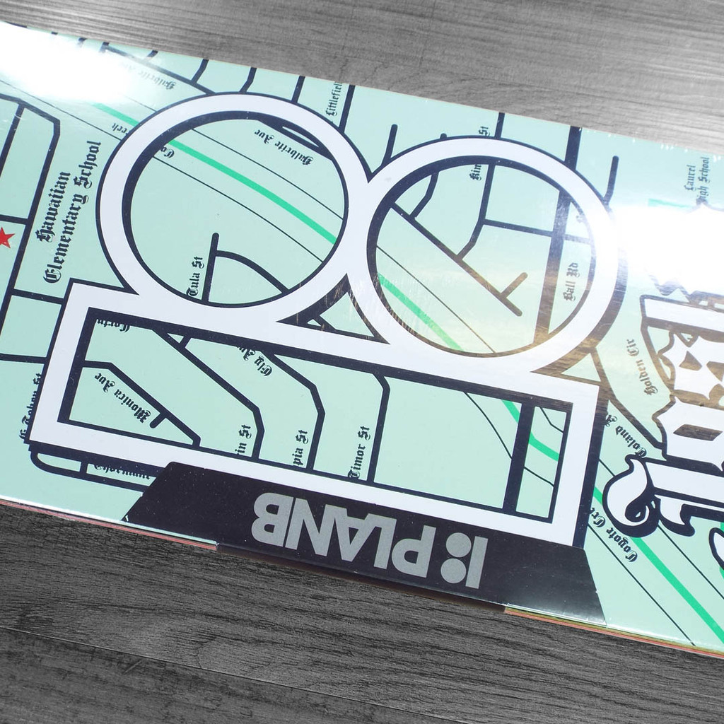 "Plan B Joslin Neighbors Skate Deck - 8.5"""