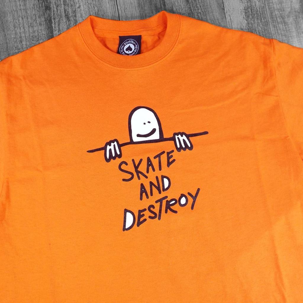 Thrasher Gonz Sad Logo T-Shirt - Orange