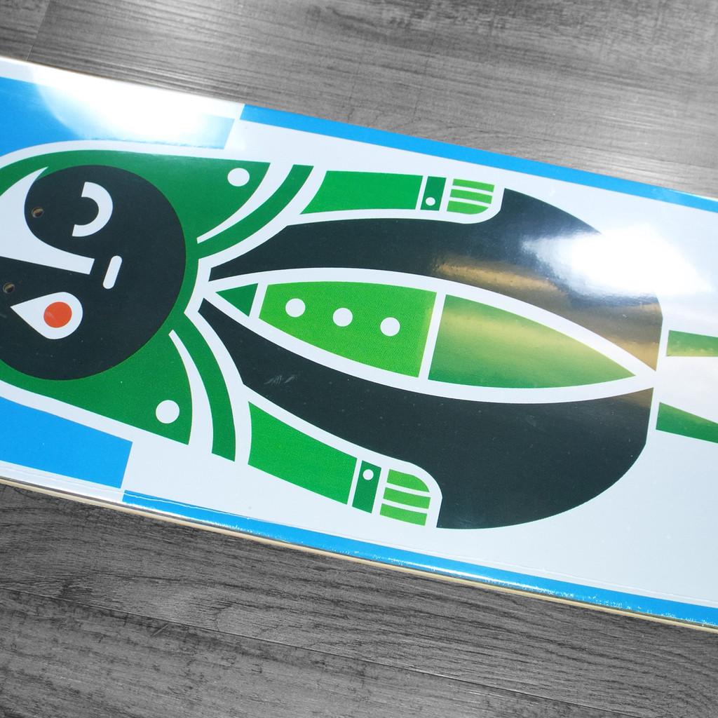 "Darkroom Prisma Shaped Skateboard Deck - 8.75"""