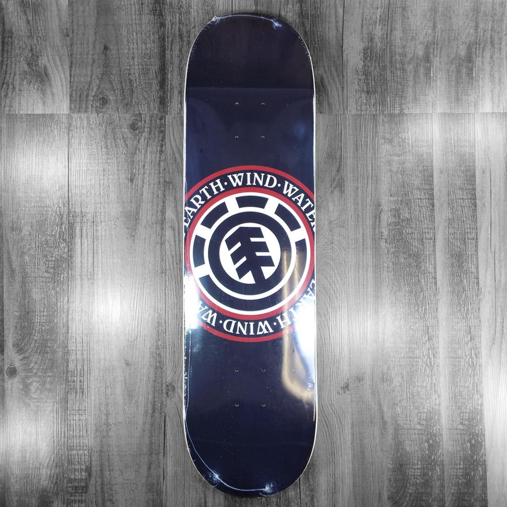 """Element Seal Black Skateboard Deck - 8.25"""""""