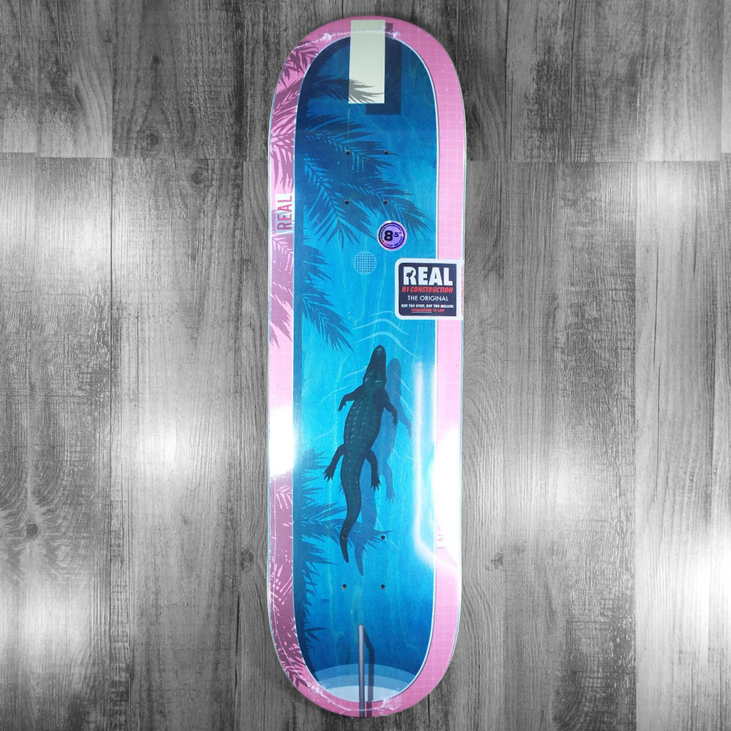 Real Wright Dive In Skateboard Deck - 8.5""
