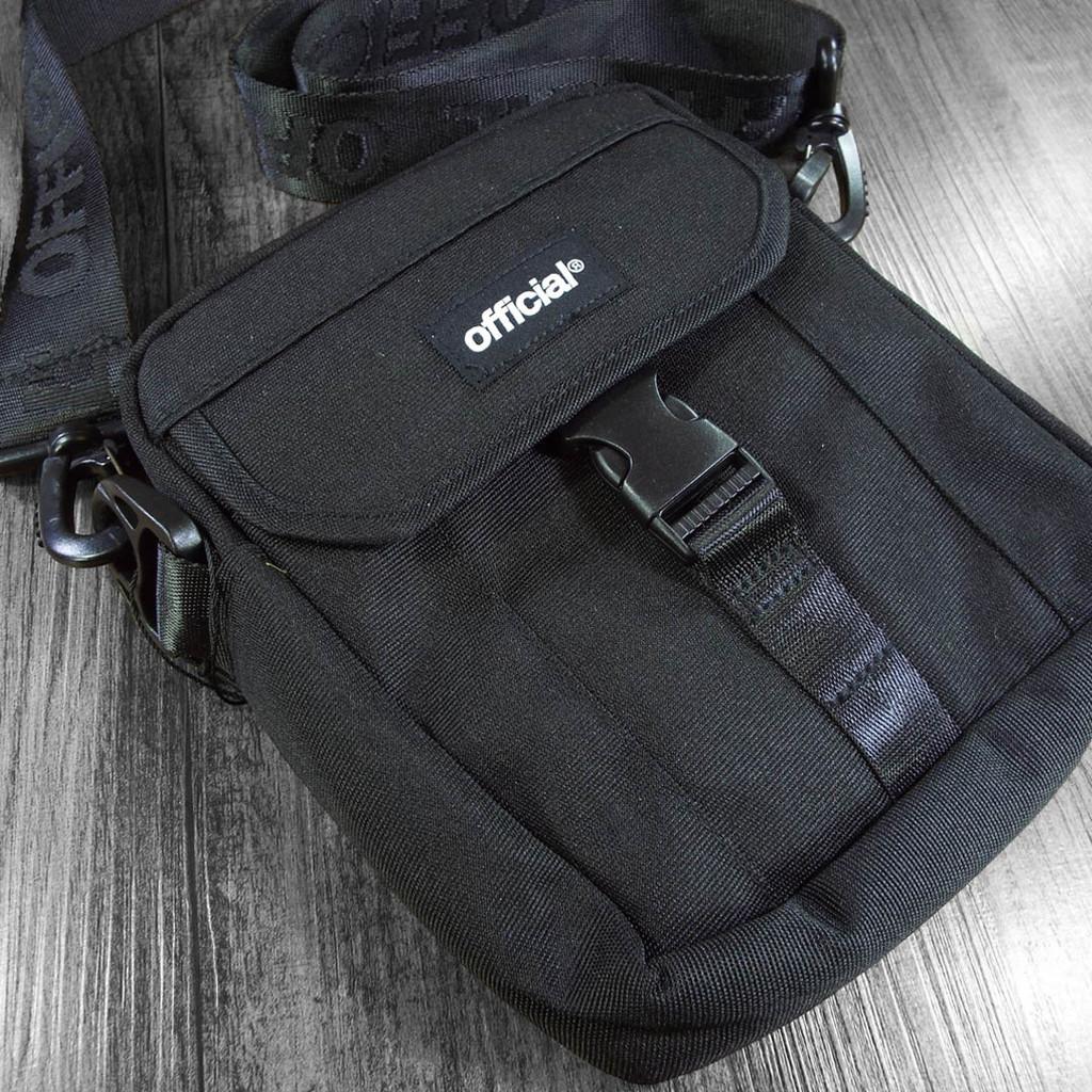 Official UVC Sterilization Shoulder Bag - Black