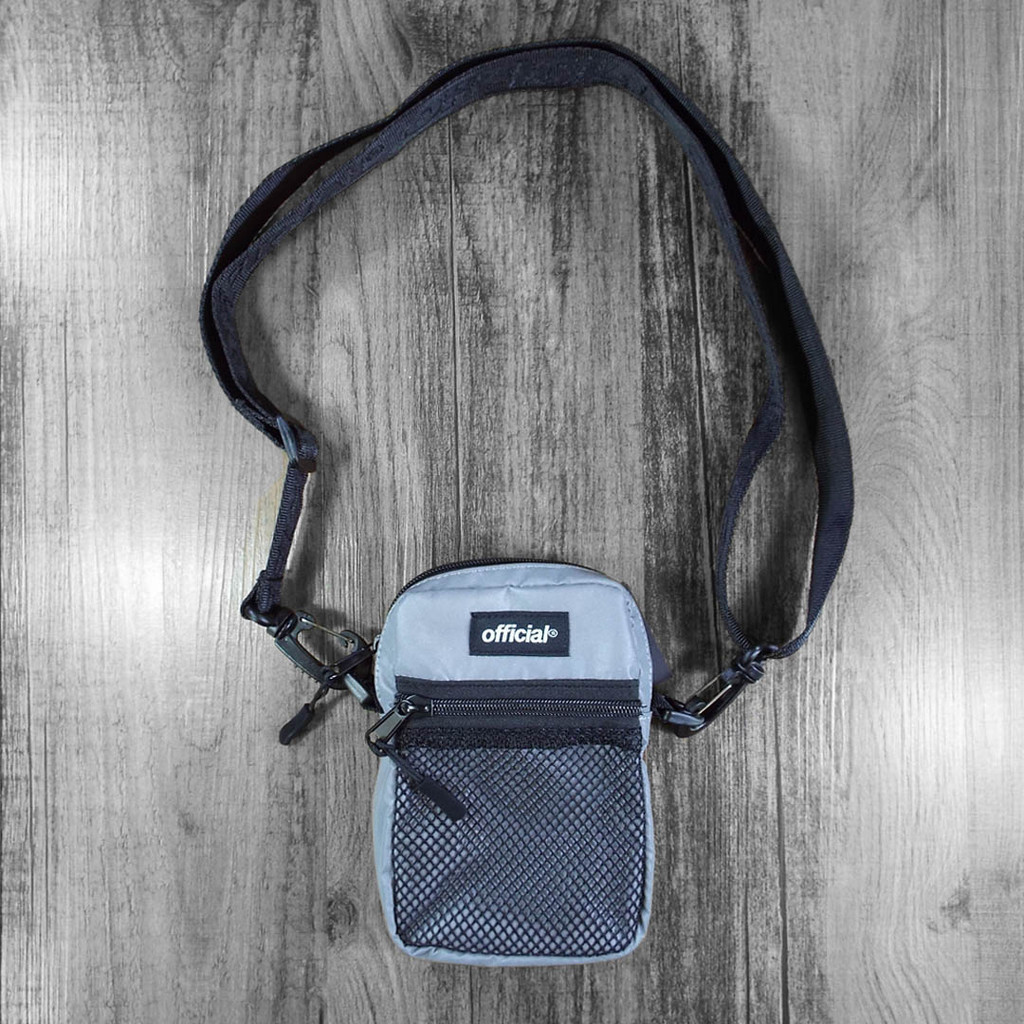 Official Essential EDC Shoulder Bag - Reflective Silver
