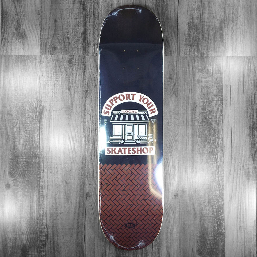 Real Skate Shop Day Skateboard Deck - 8.5""