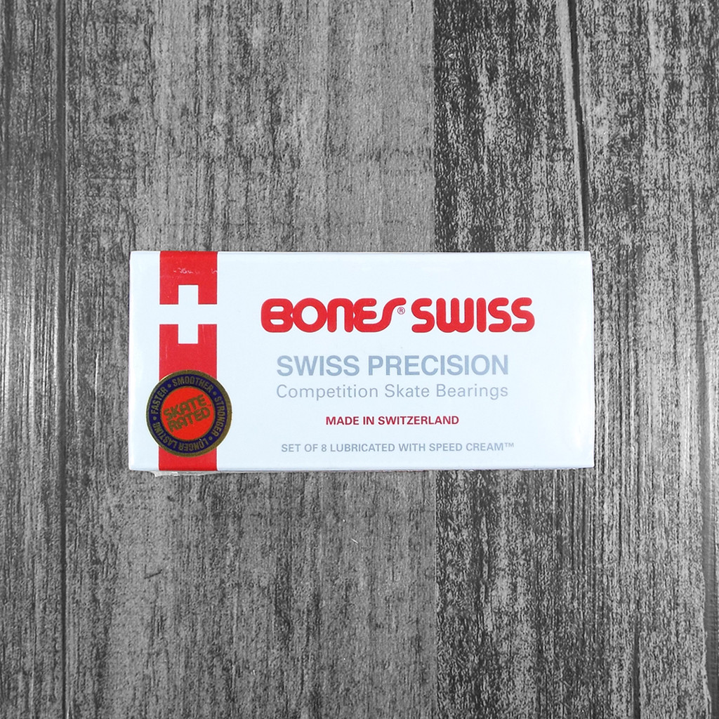 Bones Swiss Skateboard Bearings