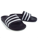 Adidas Originals Adilette Slides - Black/White
