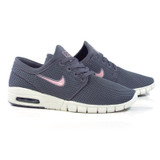 Nike SB Stefan Janoski Max Shoes - Gunsmoke/Bubblegume-Phantom