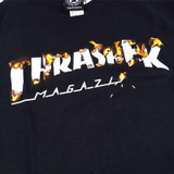 Thrasher Intro Burner T-Shirt - Black