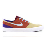 Nike SB Zoom Janoski RM Shoes - Desert Ore/Light Armory Blue - Dusty Peach