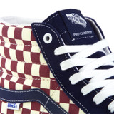Vans Sk8-Hi Pro Classics Shoes -  (Checker) Dress Blues