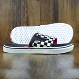 Vans UltraCush Slip-On Slides  - White/Black Checkerboard