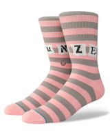 Stance Sun Daze Socks - Pink/Grey