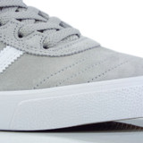 Adidas Busenitz Vulc Shoes - Grey Two/Cloud White/Gold Metallic