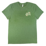 DCS Floral Jungle Vintage T-Shirt - Army Heather
