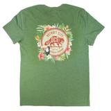 DCS Floral Jungle Vintage T-Shirt - Army Heather