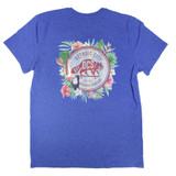 DCS Floral Jungle Vintage T-Shirt - Royal Heather