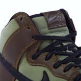 Nike SB Zoom Dunk High Pro Shoes - Baroque Brown/Black-Jade Horizon