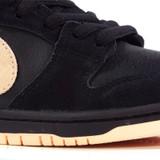 Nike SB Dunk Low Pro Shoes - Black/Washed Coral-Black