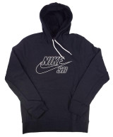 Nike SB Embroidered Hoodie - Black/Summit White