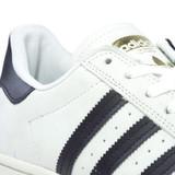 Adidas Superstar ADV (Split) Shoes - White/Core Black/Gold Metallic