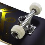 "Girl Kennedy Street Pirate Black/Gold Skateboard Complete - 8"""