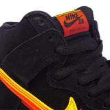 "Nike SB Dunk ""Truck It"" Pro High Shoes - Black/Uni Gold-Team Orange"