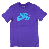 Nike SB Logo Dri-Fit T-Shirt - Court Purple/Laser Blue