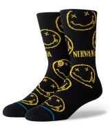 Stance Nirvana Face Socks - Black