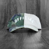 Official Arc Split Adjustable Hat - Camo/Khaki