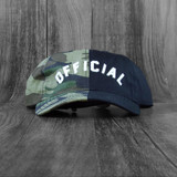 Official Arc Split Adjustable Hat - Camo/Black