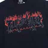 Thrasher Crows T-Shirt - Black