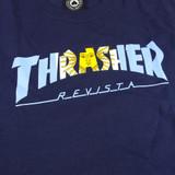 Thrasher Argentina T-Shirt - Navy