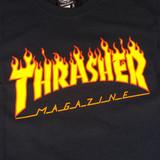 Thrasher Flame T-Shirt - Black
