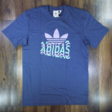 Adidas Multi Fade T-Shirt - Night Marine