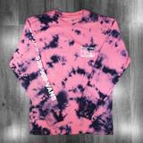 Vans Man I Need Vans Longsleeve T-Shirt - Calypso Coral/Tie Dye