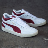 Puma Ralph Sampson Demi OG Shoes - White/Burnt Russet/Whisper White