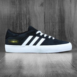 Adidas Matchbreak Super Shoes - Black/White/Gold Metallic