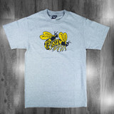 The Quiet Life Bees T-Shirt - Heather Grey