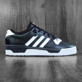 Adidas Rivalry Low Shoes - Core Black/Cloud White/Cloud White