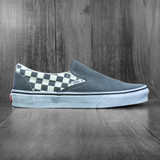 Vans Classic Slip-On Shoes - Asphalt/True White (Washed)